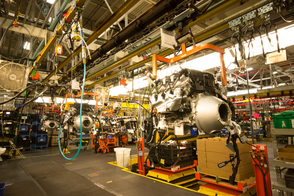 A tour of GM's Bowling Green Assembly Plant