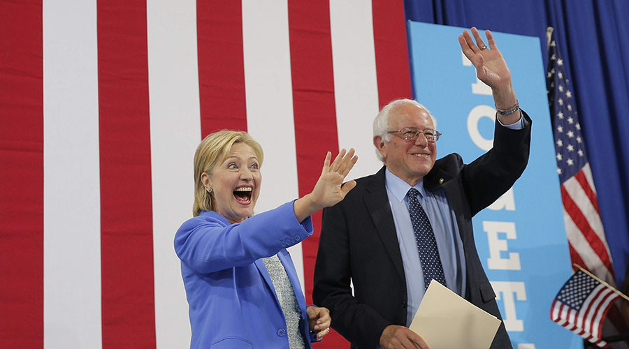 Sanders pledges to support Clinton