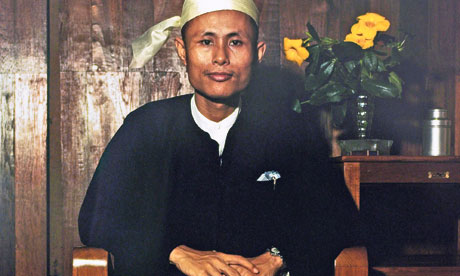 Aung San Suu Kyi's father Mr. Aung San who was assassinated in 1947