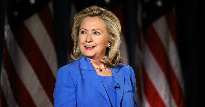 Clinton seeks to move past email controversy, directs blame at officials