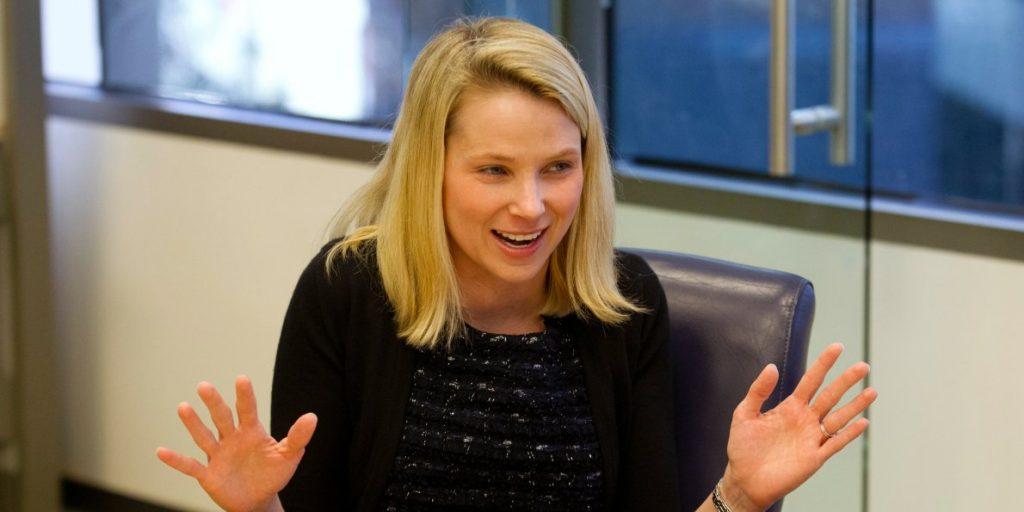 Yahoo's CEO Marissa Meyer