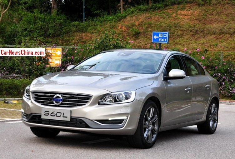 Locally produced Volvo S60L sedan is one of the top selling Volvo cars in China