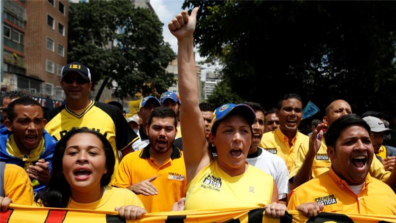 Opposition coalition says getting rid of Maduro is the only way out