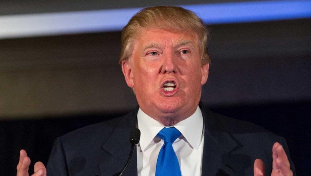 Donald Trump made a rare act of contrition on Thursday