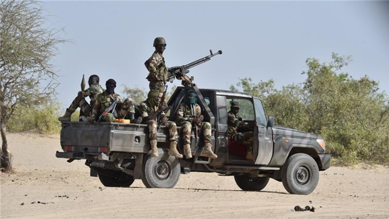 Nigerian forces have recaptured swaths of territory lost to Boko Haram * PHOTO : EPA