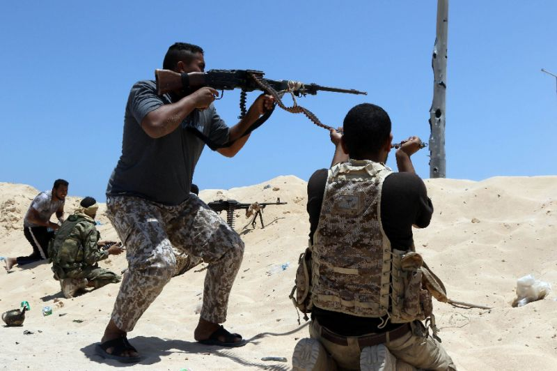 Libyan pro-regime forces launched an offensive to retake Sirte in May 2016