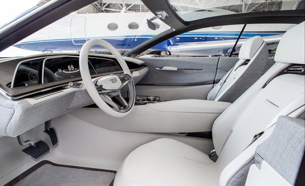 Interior of Cadillac Escala Concept