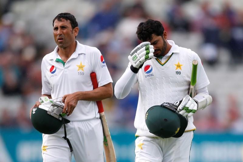 Britain Cricket - England v Pakistan - Third Test - Edgbaston - 4/8/16 Pakistan's Azhar Ali looks dejected after being dismissed Action Images via Reuters / Paul Childs Livepic