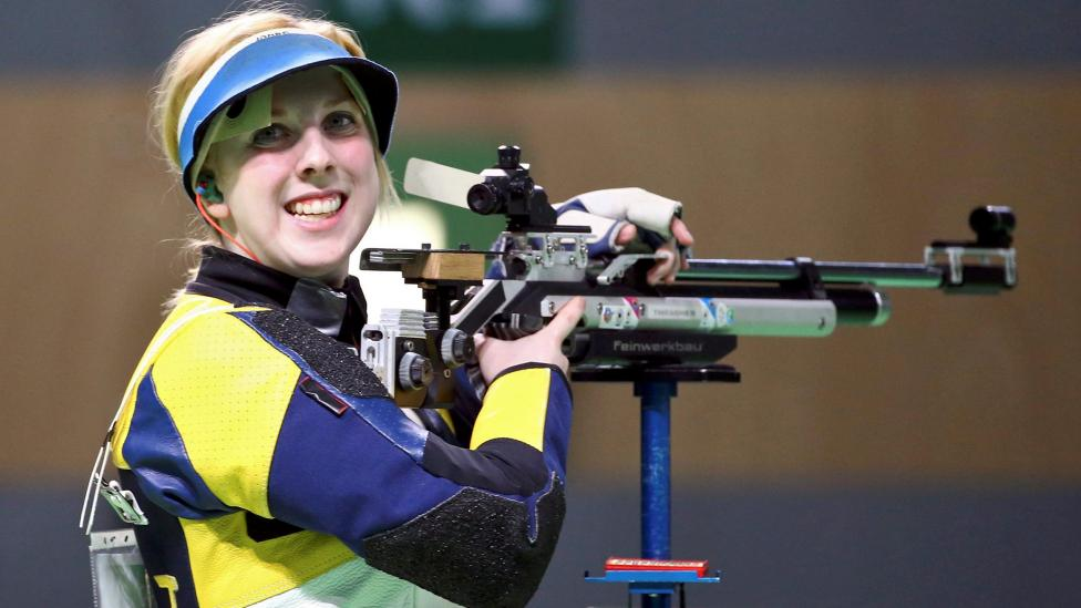 2016 Rio Olympics - Shooting - Final - Women's 10m Air Rifle Finals