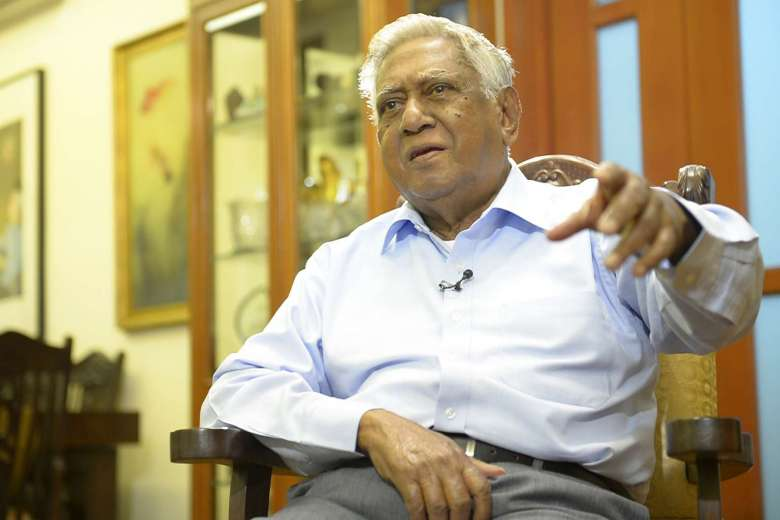 S. R. Nathan served as the sixth President of Singapore from 1999 to 2011