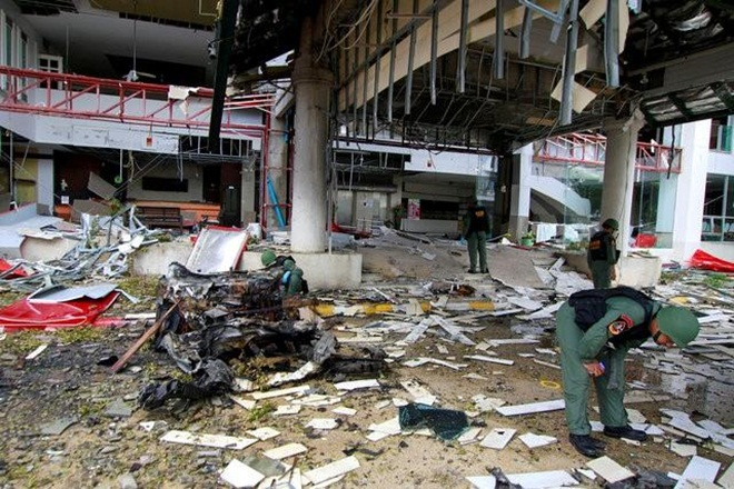 The latest bomb struck shortly before midnight outside a hotel on the outskirts of Pattani, one of three Muslim majority southern provinces that have been battered by the 12- year insurgency