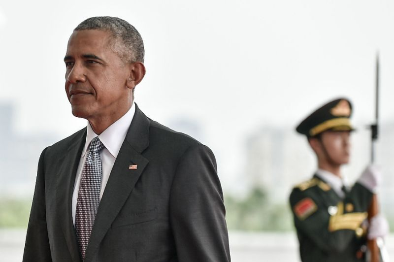 US President Barack Obama reiterated that he felt certain Donald Trump would not succeed him as president