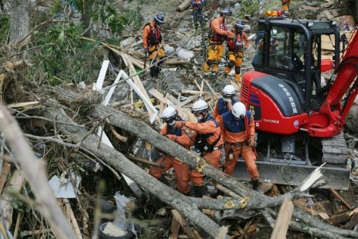 Japan typhoon death toll rises to 14