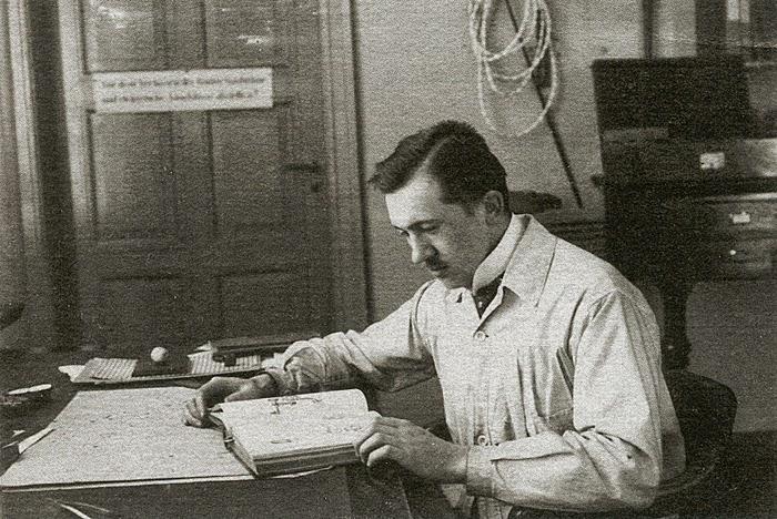 German pioneer of microscopy and creator of the first Leica lenses, Mr. Max Berek