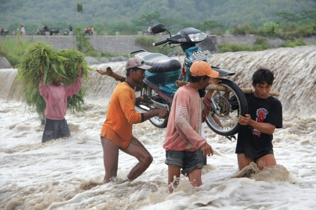 Landslides and flooding are common in Indonesia, a vast tropical archipelago prone to natural disasters and torrential downpours
