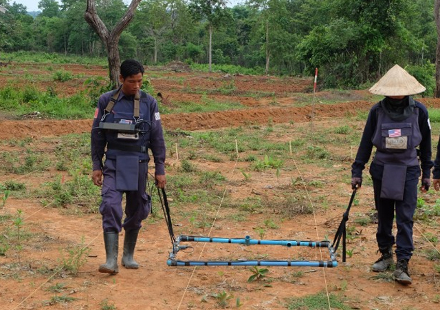 The United States pledged an extra $90 million earlier this week for Laos to address unexploded ordnance in the country