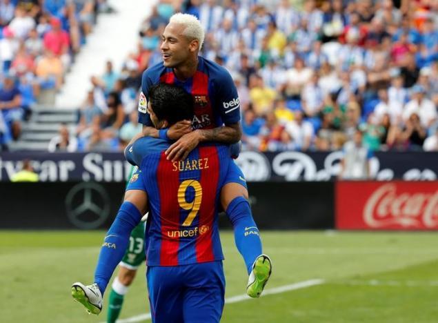 Football Soccer - Spanish Liga Santander - Leganes v Barcelona