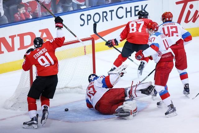 Hockey: World Cup of Hockey-Semifinals-Russia vs Canada