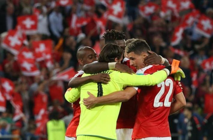 Football Soccer - Switzerland v Portugal - 2018 World Cup Qualifier