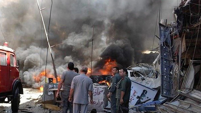 SYRIA UNREST BOMBING