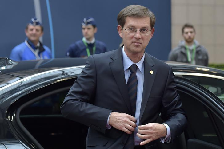 Slovenia's Prime Minister Miro Cerar