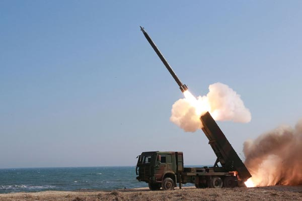 he United States will deploy an advanced missile defence system in South Korea in eight to 10 months despite strong objections from China and Russia