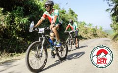 "Mizanul Azam, champion of nations biggest MTB challenge victory day ""Tour De CHT"""