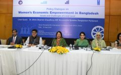 Remove the policy and social barriers in women's economic empowerment to achieve SDGs