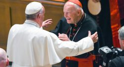 Pope Francis and Theodore Edgar McCarrick