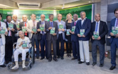 Book launch of 'From the Ground Up', featuring BRAC's work in agricultural development