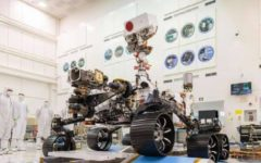 NASA's Mars 2020 rover successfully passed its first driving test