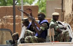 An ambush on a police patrol in northern Burkina Faso left four people dead