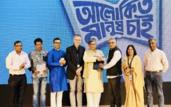 Grameenphone renews an agreement with Bishwo Shahitto Kendro to continue encouraging the habit of reading-among young children