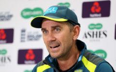 Aussie coach Justin Langer sees 'silver lining' to virus shutdown