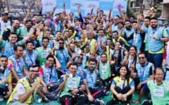 Grameenphone organizes Quarter Marathon and Walkathon as part of employee's fitness