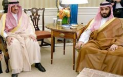 Three senior members of Saudi Arabia's royal family arrested for unexplained reasons