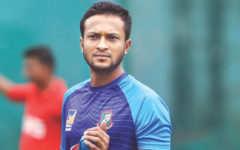 Shakib Al Hasan pays tributes to Bangabandhu on birth centenary