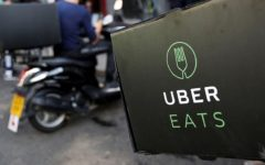Uber Eats partnered with grocery chains in Dhaka to deliver essential commodities to the customers' doorsteps