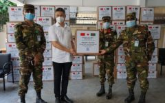 China Railway Group Limited donates Corona Safety Gears to Bangladesh