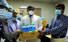 CARE Bangladesh distributed protective equipment in Gazipur