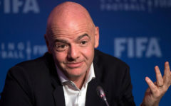 FIFA's Infantino says 'nobody knows' when football can resume