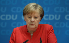Angela Merkel returns to office after quarantine stint