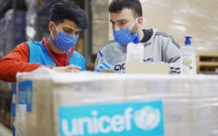 UNICEF is providing supplies and technical support to fight COVID-19 in Lebanon
