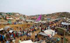 Bangladesh locks down a million in Rohingya camps