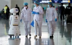 Robots being increasingly relied in the war against the deadly coronavirus