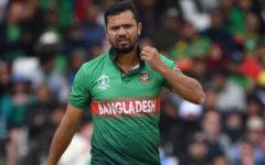 Mashrafe still holds Bangladeshi bowler's fastest delivery record