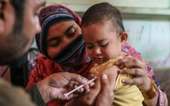 Disruption of child vaccination in South Asia poses an urgent threat to children's health