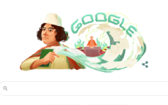 Google unveiled doodle to celebrate the birthday of Kazi Nazrul Islam