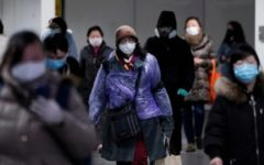 WHO advised people to wear mask in public areas