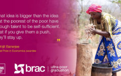 BRAC's Ultra-Poor Graduation Initiative has been named as 2020 TED Audacious Project